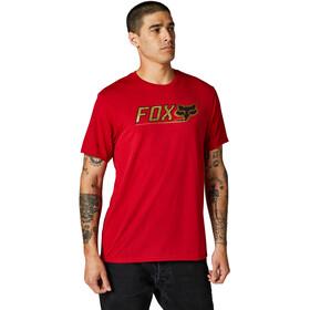 Fox Cntro Kurzarm Tech T-Shirt Herren rot